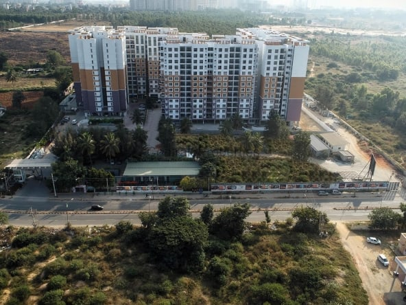 2BHK flats for sale in Hennur Rd Bengaluru