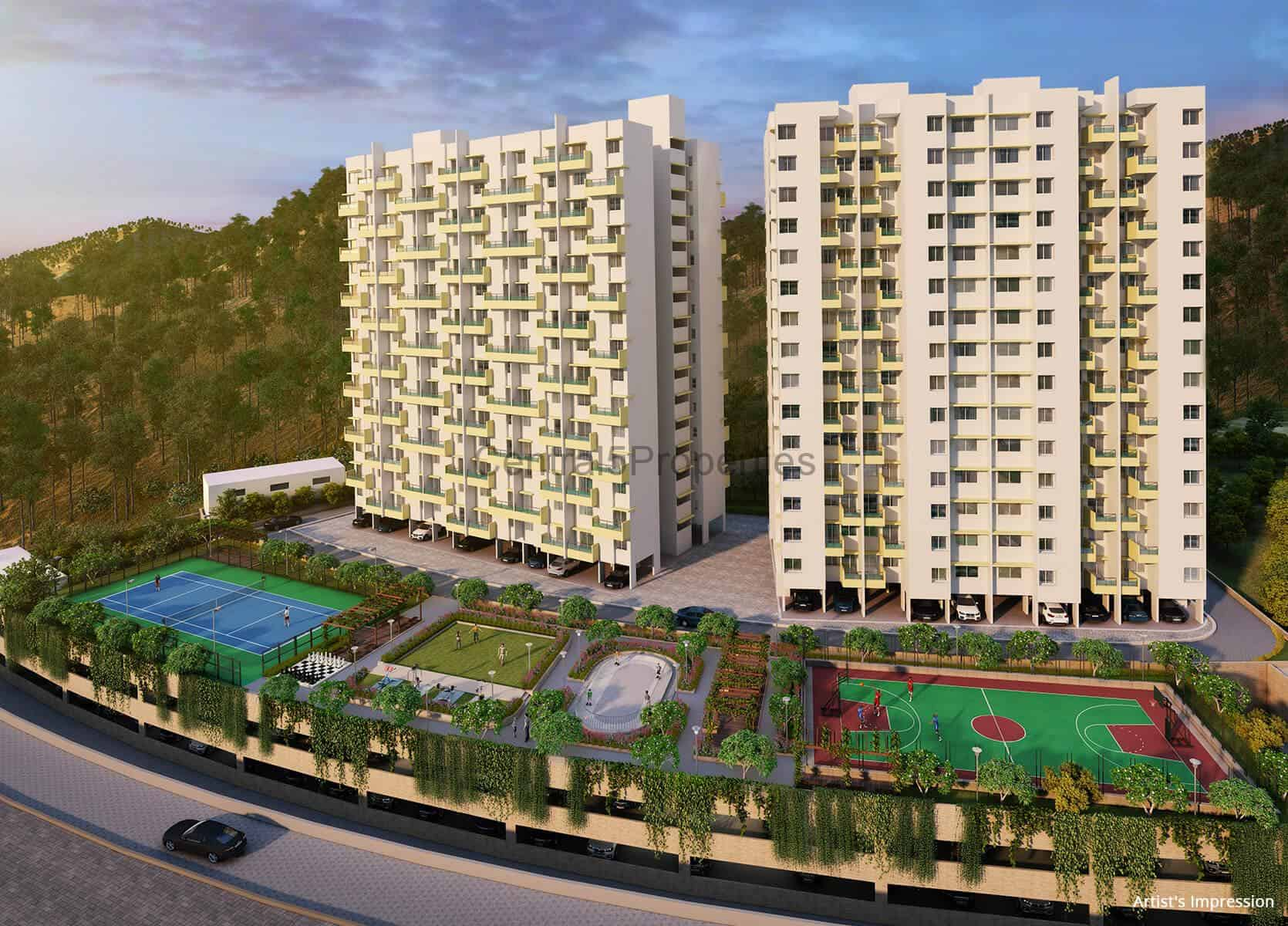 3BHK flats for sale in Pune