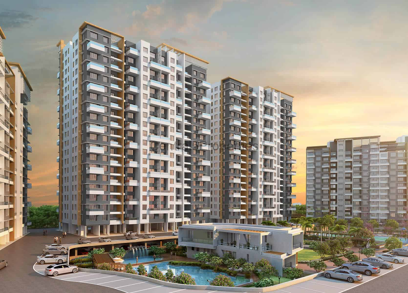 2BHK for sale in waqad pune