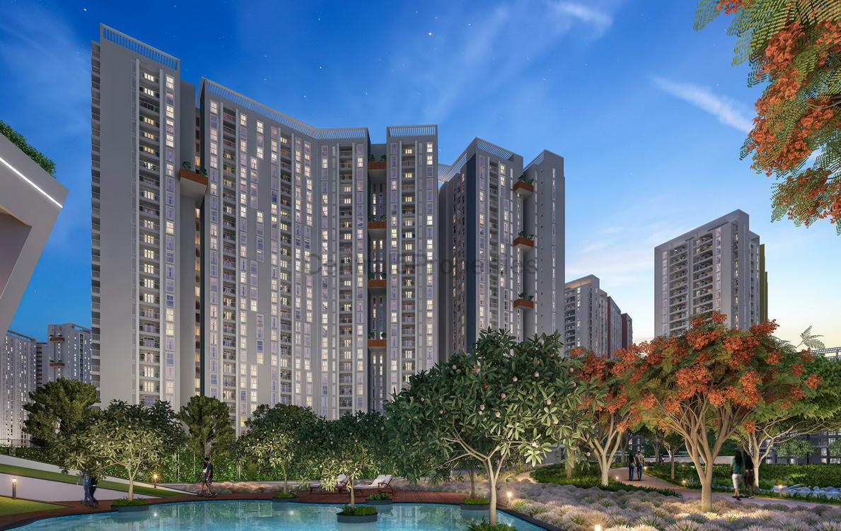 1RK Flats apartments for sale in Varthur Bangalore in Eden at Brigade Cornerstone Utopia