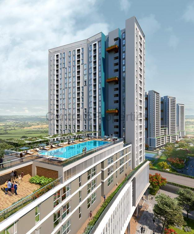 Flats apartments for sale in Varthur Bangalore in Eden at Brigade Cornerstone Utopia