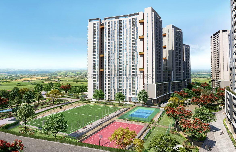 Flats apartments for sale in Varthur Bangalore in Eden at Brigade Cornerstone Utopia