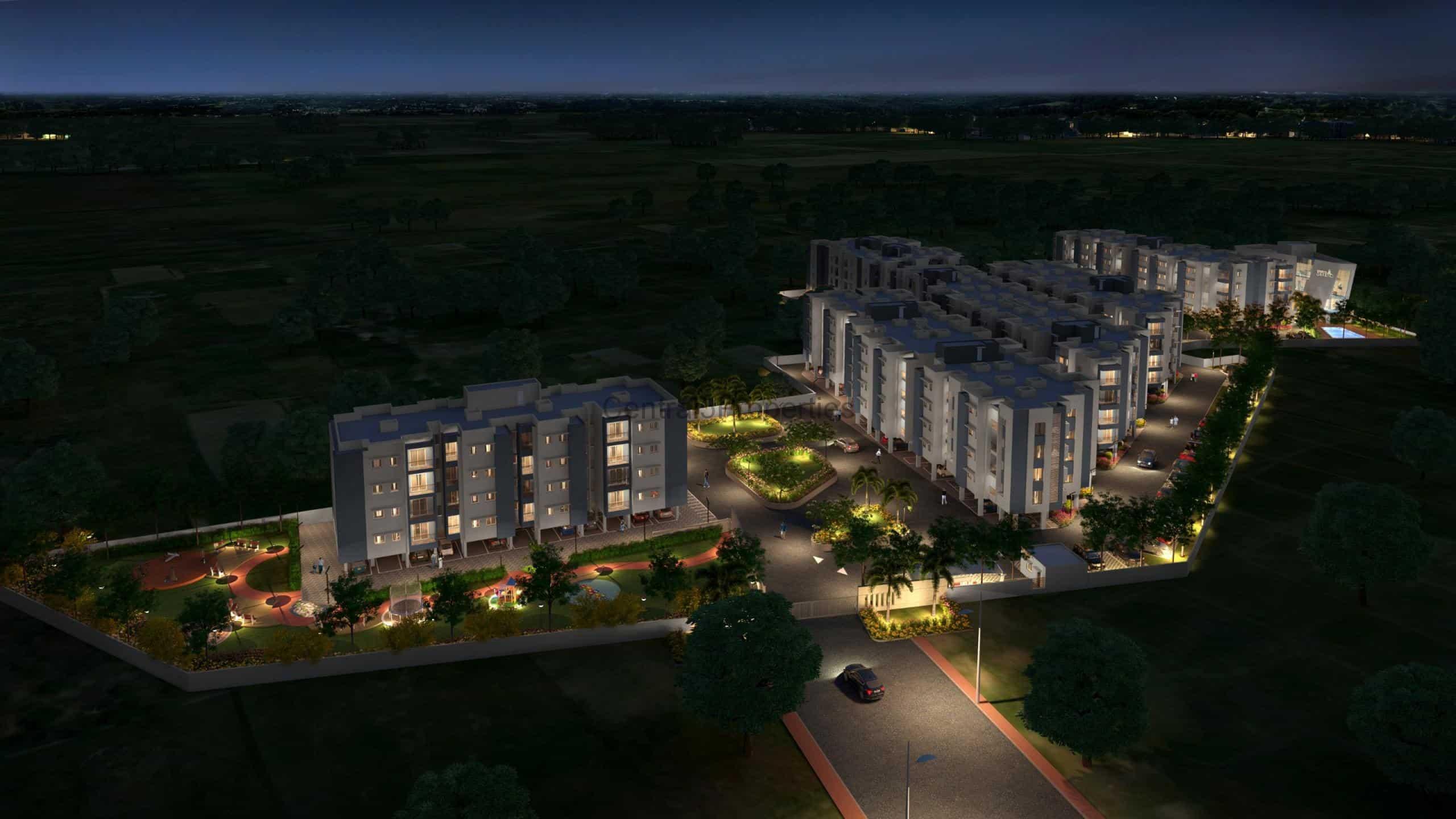 2BHK Apartments for sale in Chennai Thalambur