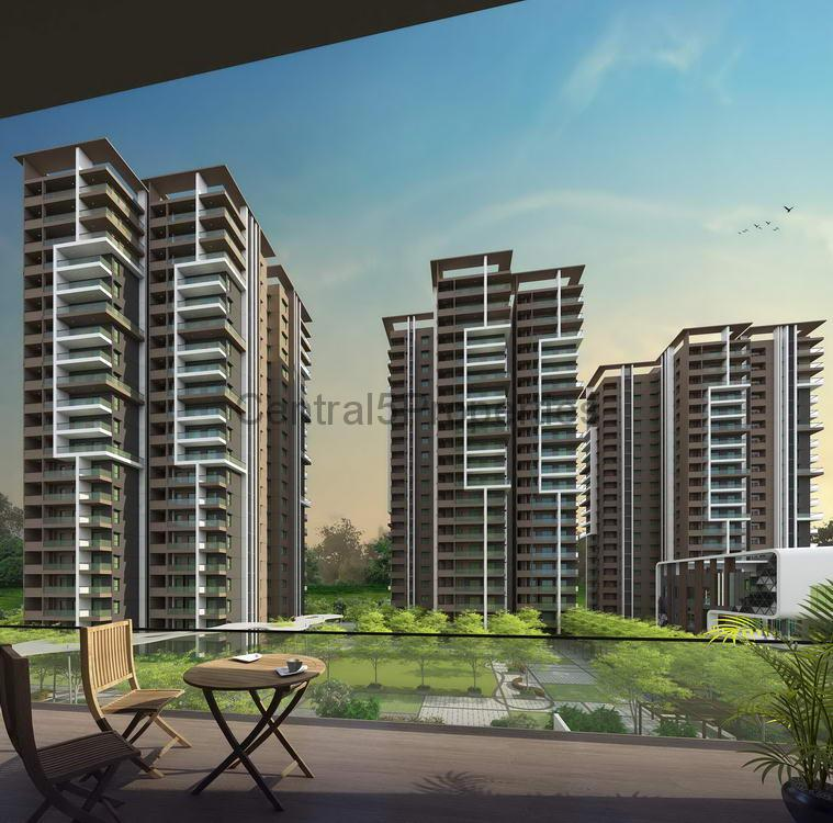 Flats apartments homes for sale to buy in Hyderabad Kondapur aparana Luxor Park