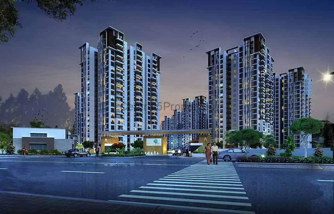 Flats apartments homes for sale to buy in Hyderabad Kondapur Aparna Serene Park