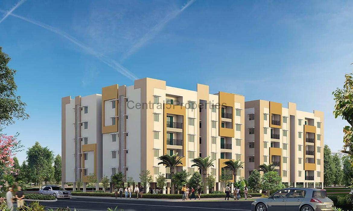 Flats Apartments homes for sale to buy in Hyderabad Maheshwaram Ramky Greenview apartments