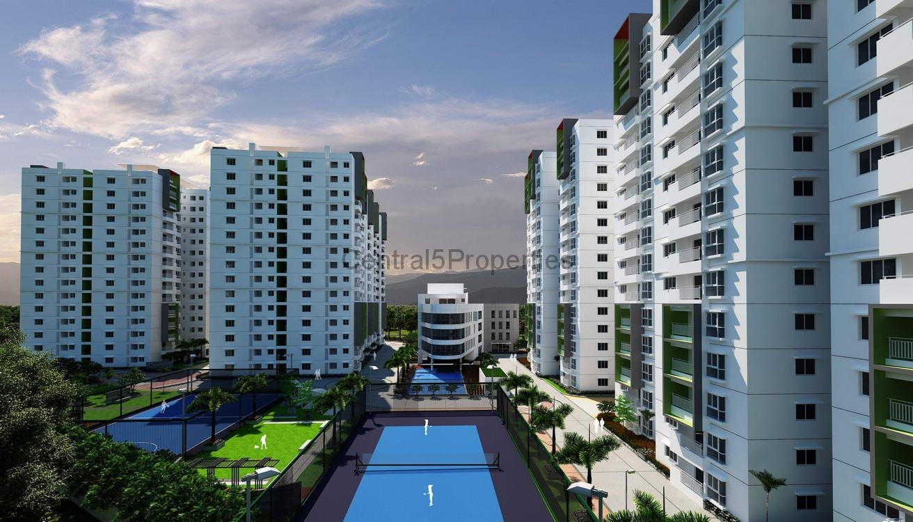 Flats apartments for sale to buy in Gachibowli Hyderabad Ramki One Galaxia