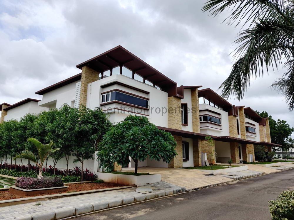 Villas Homes for sale in Kismatpur Hyderabad Ramky Tranquillas