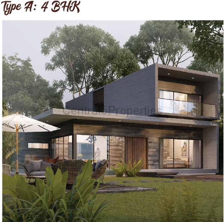 3BHK Luxury Villas Homes for sale to buy in Kalol Road Ahmedabad by Arvind Forreste