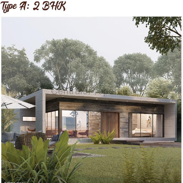 2BHK Luxury Villas Homes for sale to buy in Kalol Road Ahmedabad by Arvind Forreste