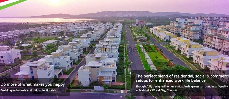 Villas to buy in Chennai Mahindra World city