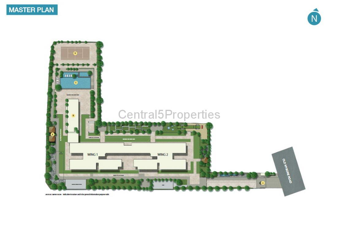 Luxury apartment for sale in Rajajinagar Bangalore at Sobha Rajvilas